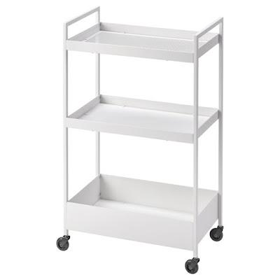 IKEA,イケア,ワゴン,NISSAFORS,ニッサフォース