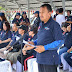 Wakili Walikota GS.Vicky Lumentut , Sekda Micler Lakat buka Kegiatan HKN ke-54.