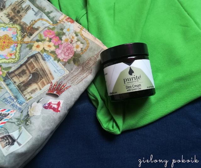 Kosmetycznie: Purite - Dezodorant w kremie z zieloną glinką