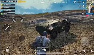 Pubg Mobile BRDM 2