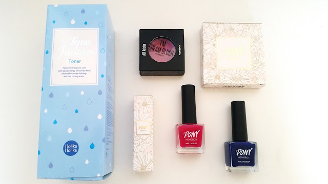 Memebox Pony Summer Makeup Box Unboxing