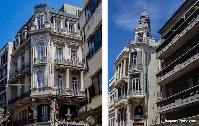 Arquitetura na Cidade Velha de Montevidéu