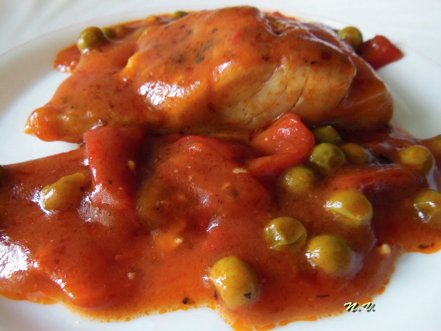 BACALAO CON TOMATE 6