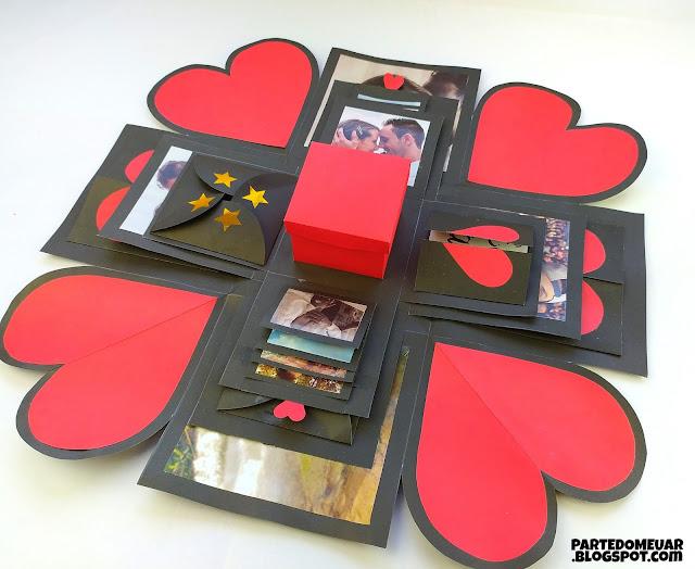 caixa personalizada dia dos namorados