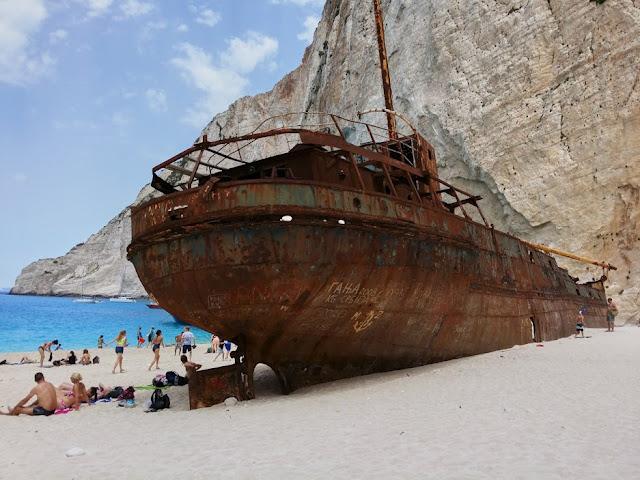 Shipwreck or Smugglers Cove, Zakynthos, Zante