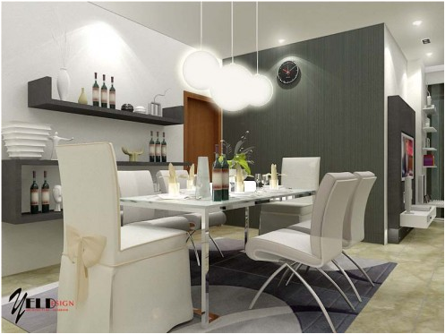 Modern Dining Room Design Ideas Evaigeren