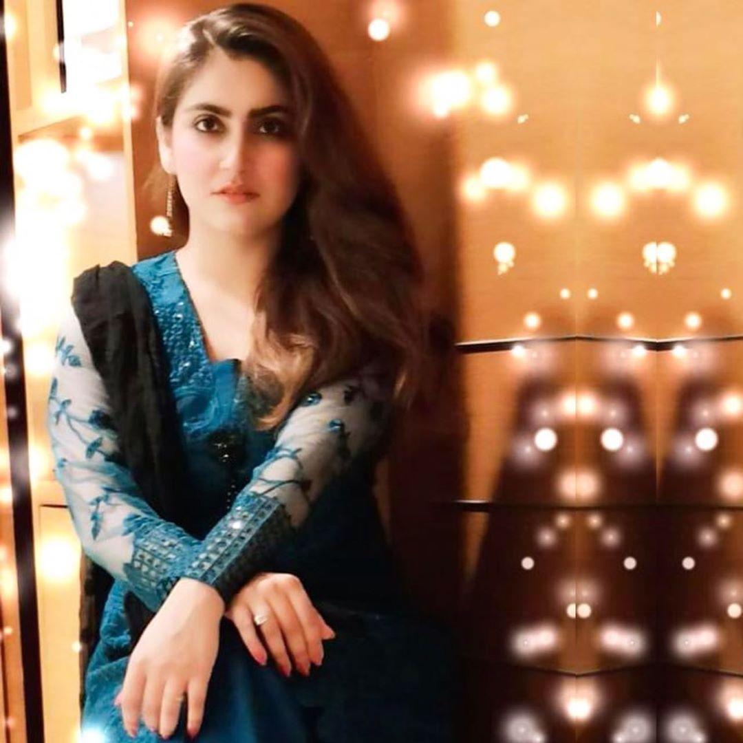 Latest Beautiful Clicks of Actress Hiba Bukhari