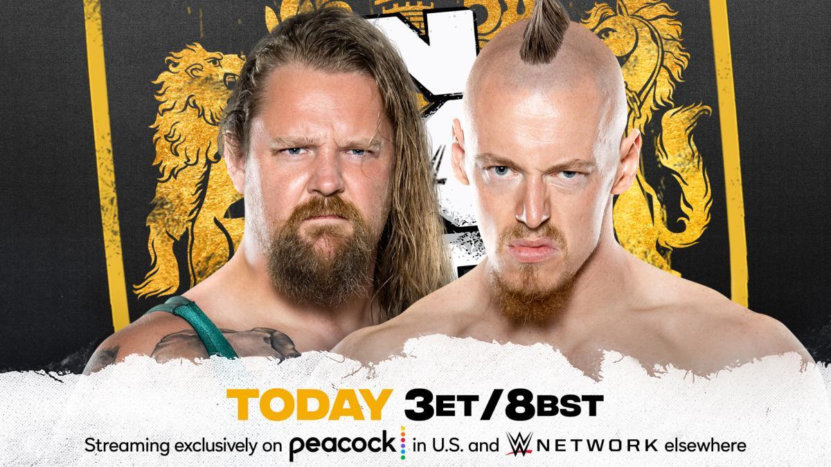 Cobertura: WWE NXT UK (09/09/2021) – Máquina!