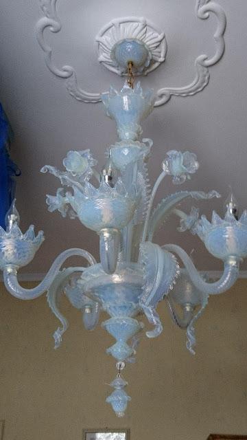 Ricambio-lampadari-murano-vetro-soffiato-opalino