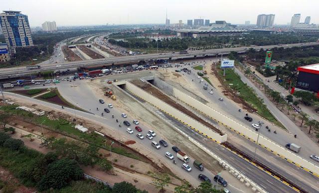Nút giao thông Trung Hòa