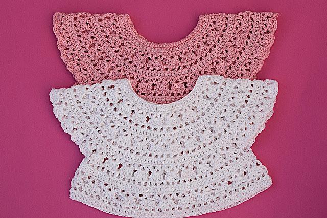 1 - Crochet Imagen Canesú redondo sacado del cuadrado por Majovel Crochet