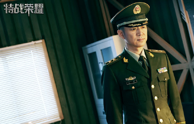 Glory of the Special Forces soldier Gao Xin