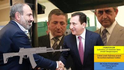 Ermənistan hökuməti vahhabi terrorçularını silahla təmin edib
