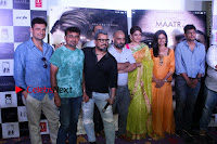 Bollywood Actress Raveena Tandon in Transparent Green Saree at Trailer Launch Of Film Maatr  0029.JPG