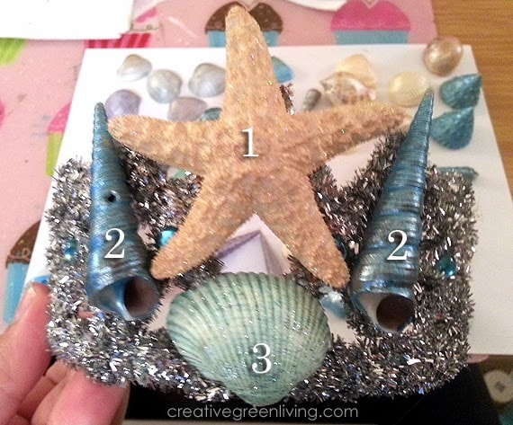 How to make a seashell crown and mermaid tiara