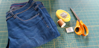 How to Shorten Jeans Step by Step DIY