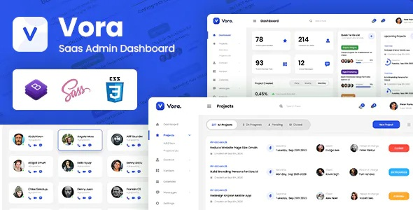 Best Saas Admin Dashboard Bootstrap HTML Template