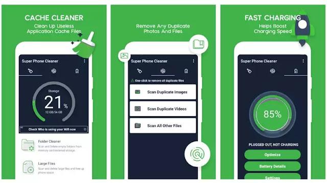 1-تطبيق Super Phone Cleaner 2020 technotesarabic.com