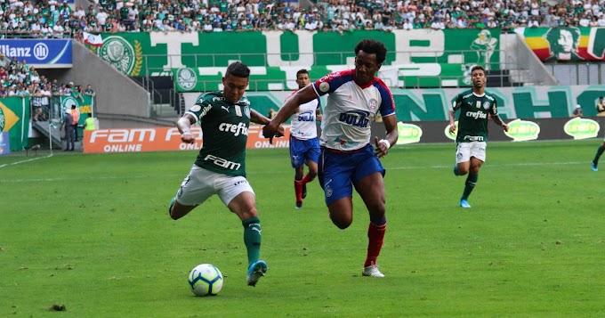 Bahia arranca empate com o Palmeiras fora de casa no Brasileirão