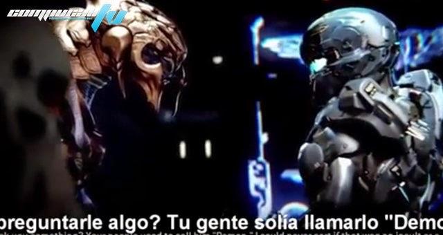 Escena Cinematica filtrada de Halo 5 Guardians