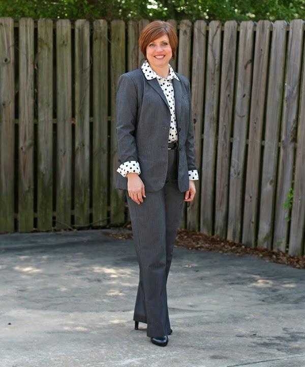 conservative and fun office attire