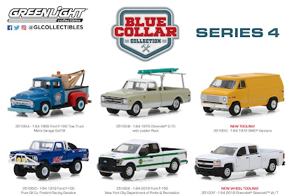 Greenlight Blue Collar Series 4