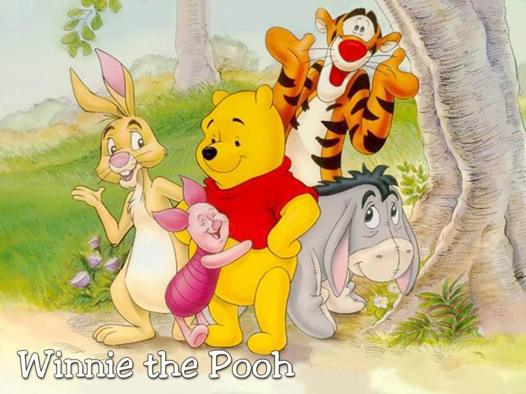 dibujos animados winnie the pooh. Black Bedroom Furniture Sets. Home Design Ideas