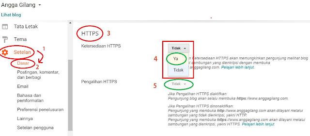 Cara Mengaktifkan HTTPS Di Blogger Untuk Custom Domain | Gratis. HTTPS/SSL bisa meningkatkan SEO dan ranking blog kita di mesin pencari google. Mengaktifkan SSL/HTTPS pada domain custom blogger tanpa cloudflare.