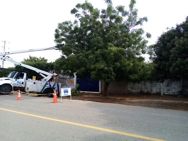 Air-e realizará mantenimiento en El Morro, Tubará