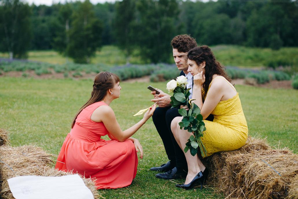 eko kāzas dabā