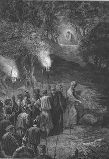 Judas guides the soldiers - Alexandre Bida