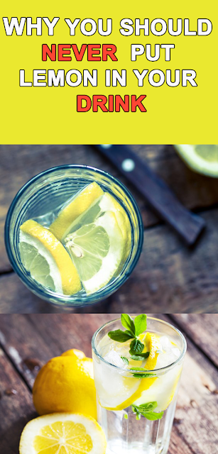 Here's why you should never put lemon in your drink