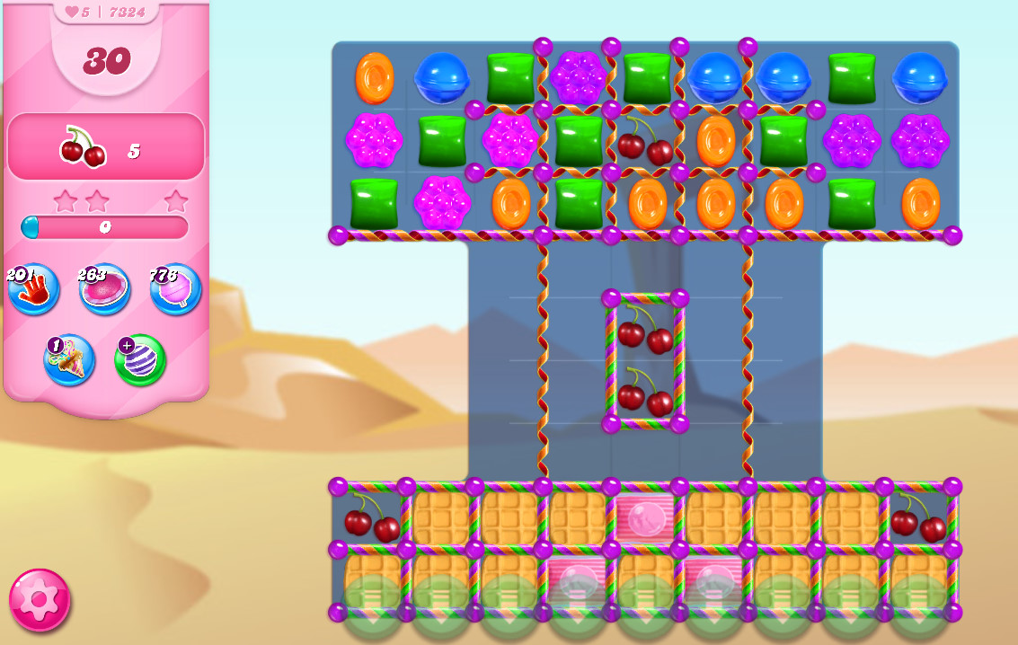Candy Crush Saga level 7324