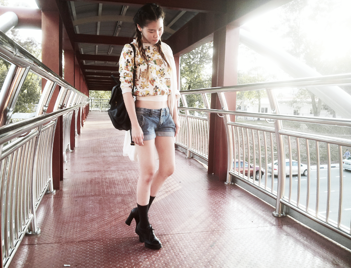 Brunei Fashion Blogger May Cho of THEMAYDEN