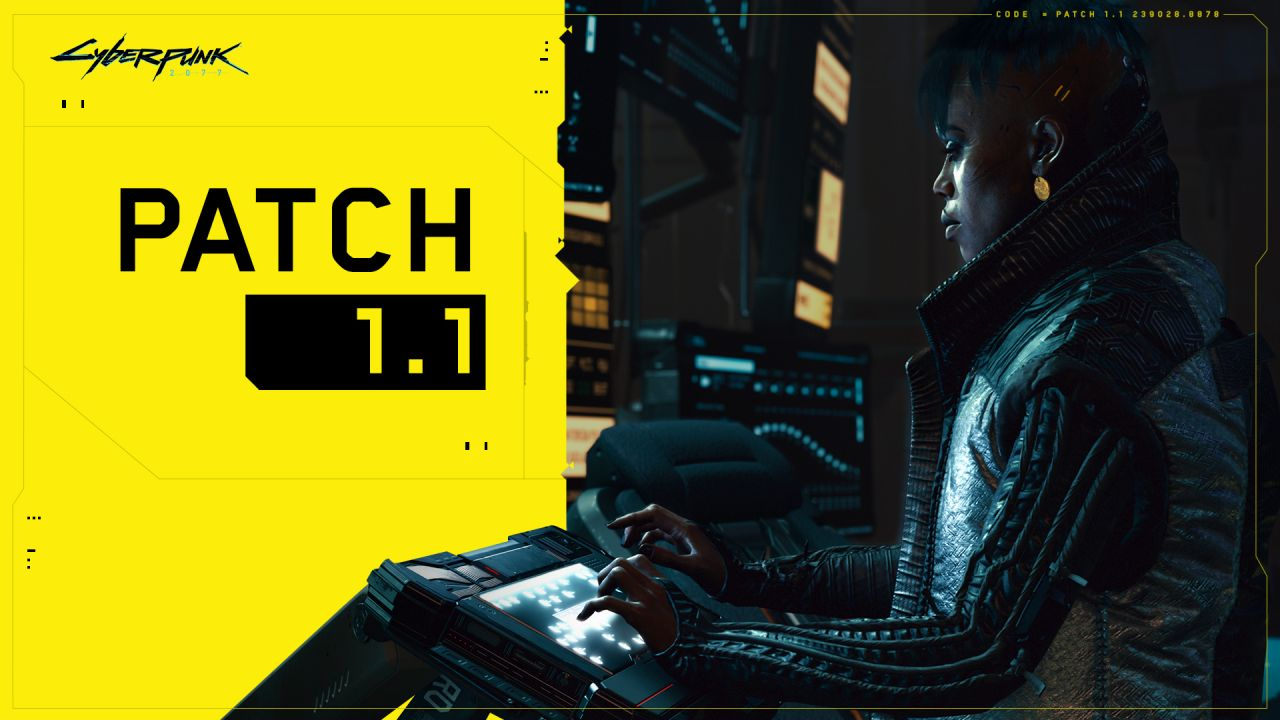 Cyberpunk 2077's First Big Update Is Available Now, and It Fixates on Security, Various Fixes