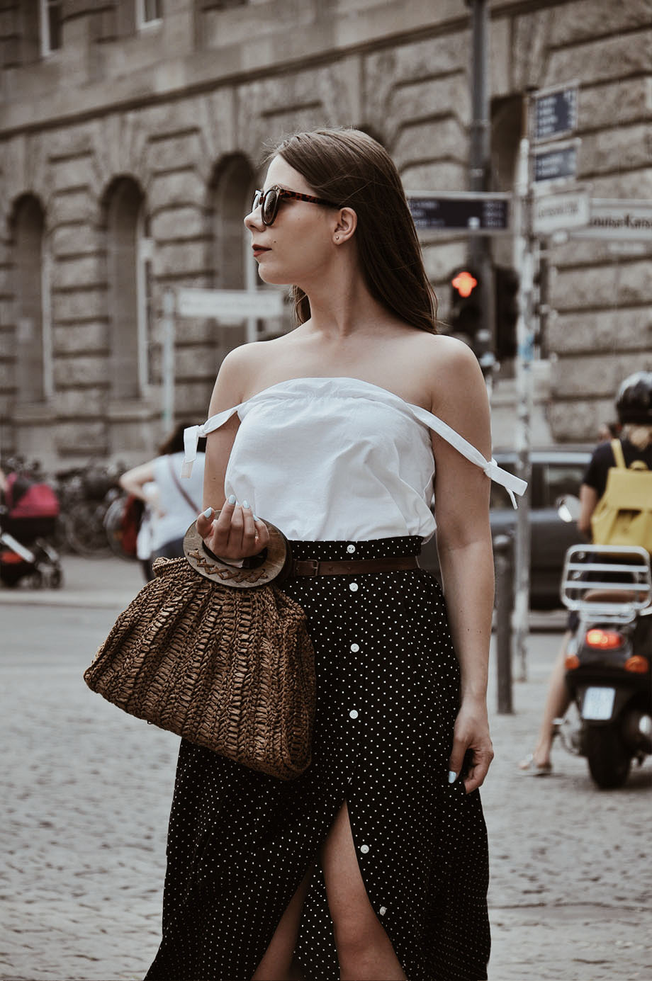 Martiarti | Blog szyciowy: Długa rozpinana spódnica na kilka