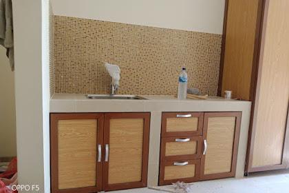 Biaya dan Bahan Membuat Kitchen Set Sendiri di rumah