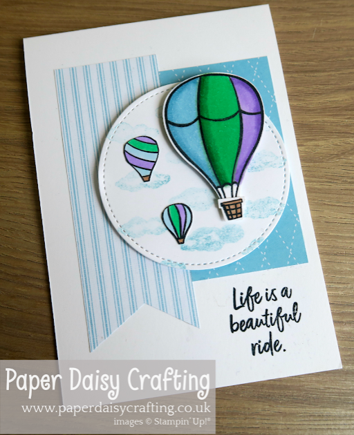 Nigezza Creates, The Project Share,  Stampin' Up! Above The Clouds