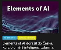 Elements of AI dorazil do Česka. Kurz o umělé inteligenci zdarma. - AzaNoviny