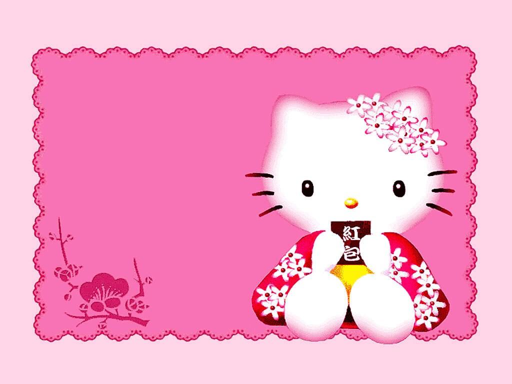 Hello Kitty Cartoon Disney 3D HD Wallpapers