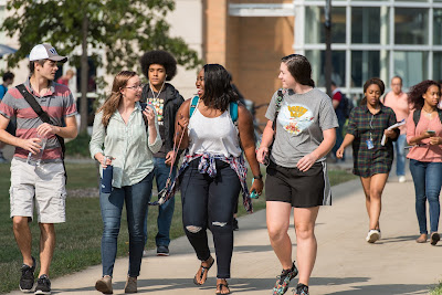 Undergraduate student enrollment is steady at UIS, while online majors grow