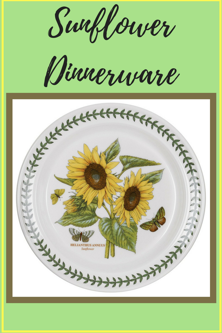 Find beautiful sunflower dinnerware featured here from Amazon. These dinnerware sets can be used for everyday meals with the family or saved for dinner ...  sc 1 st  I Love You Sunflower & I Love You Sunflower: Sunflower Dinnerware