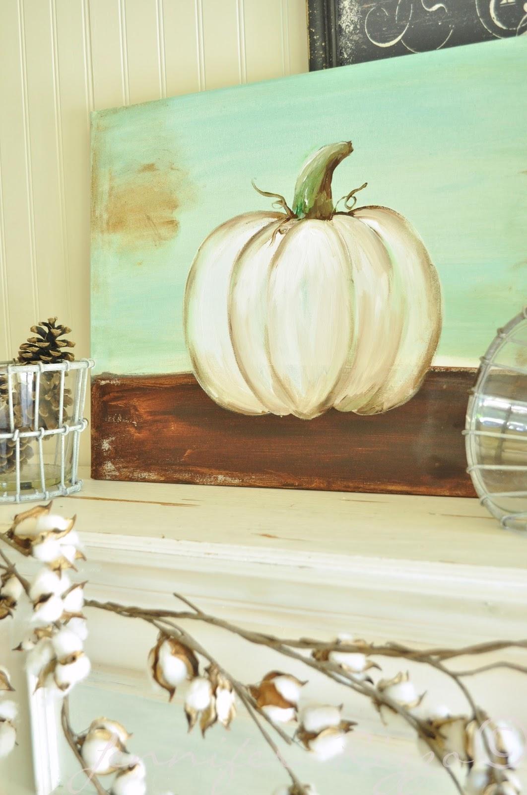 How To Paint A Pumpkin Canvas Art Skills Not RequiredBy Jennifer