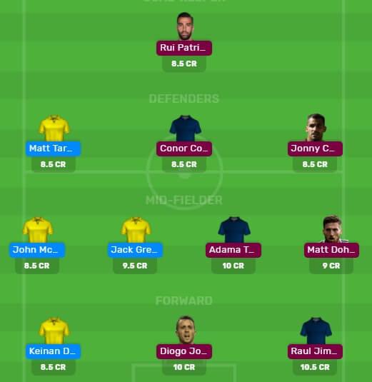 AVL vs WOL Dream11 Predictions and Fantasy Football Team