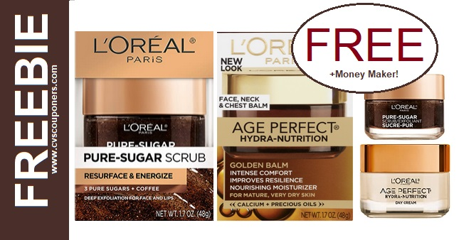 Free L'Oreal Facial Care CVS Deal 5-10-5-16