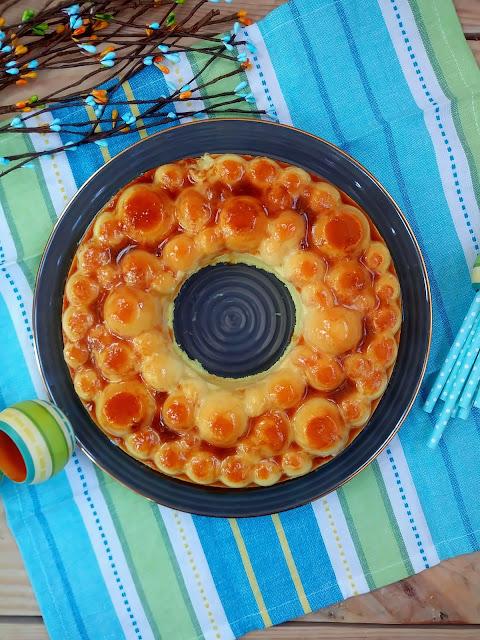 Receta de tarta de piña ligera y fácil sin horno. Postre, verano, light, saludable, fit, healthy, rápido, sencillo, Cuca Monsieur cuisine, Thermomix
