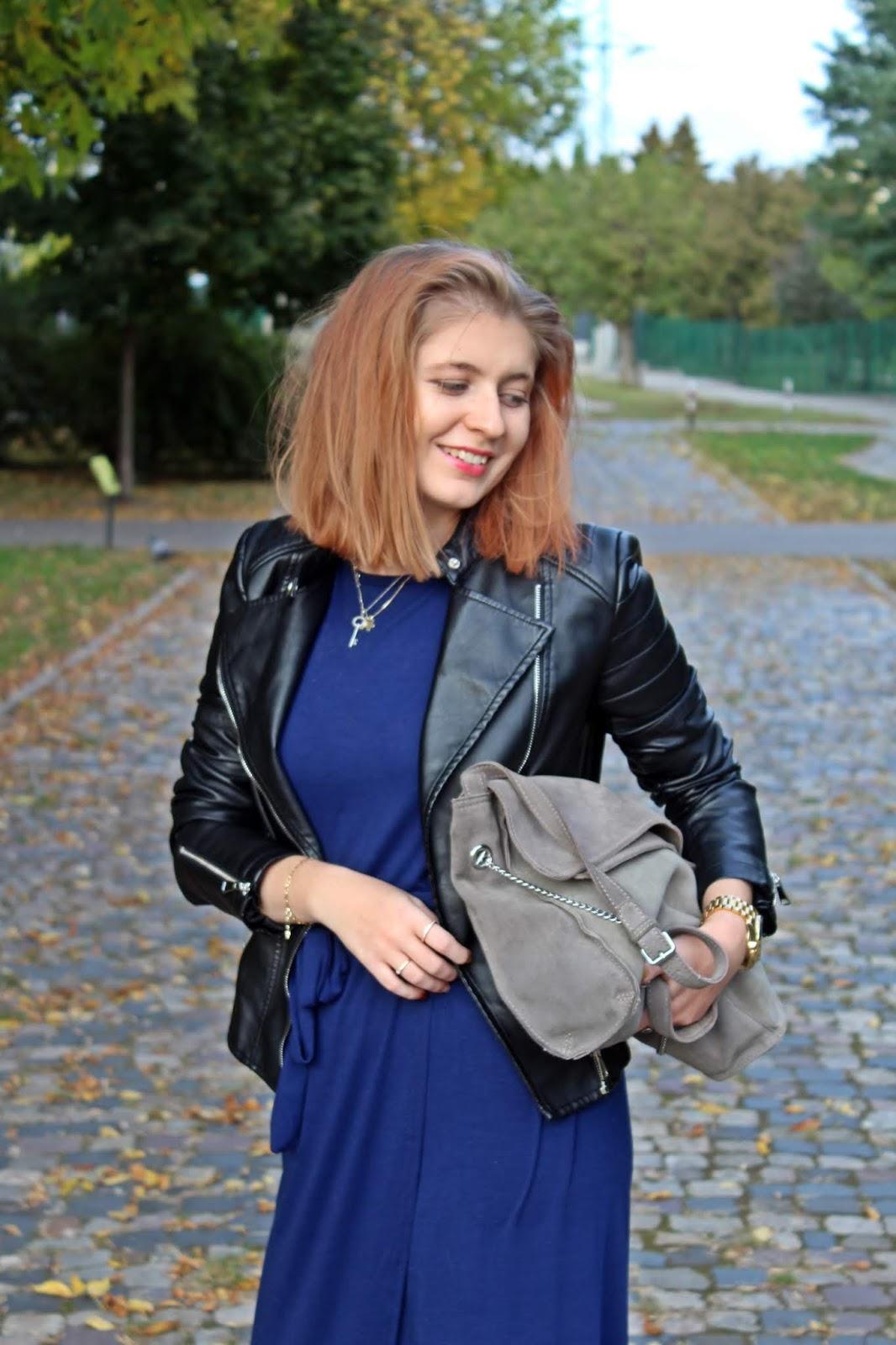 Sukienka maxi jesienią
