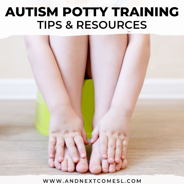 Autism potty training