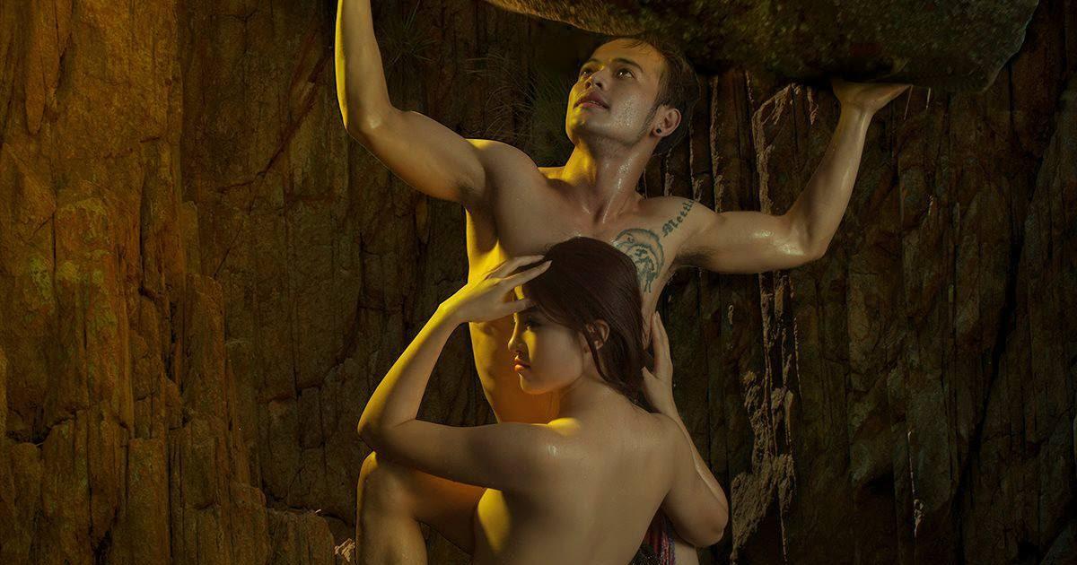 Hot girl…. …nude couple,