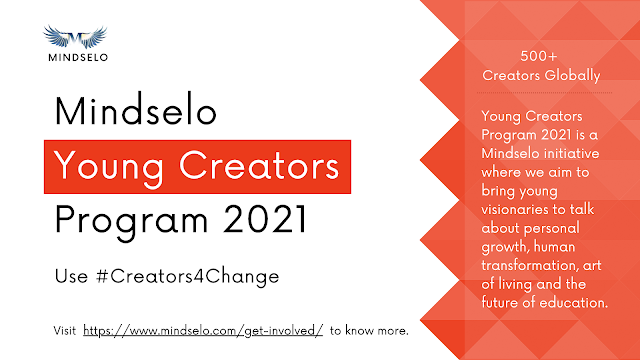 [Opportunity] Young Creators Program 2021 by Mindselo [Apply Soon]